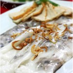 Vietnamese Steamed Rice Rolls/Crepes