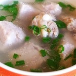 Taro soup