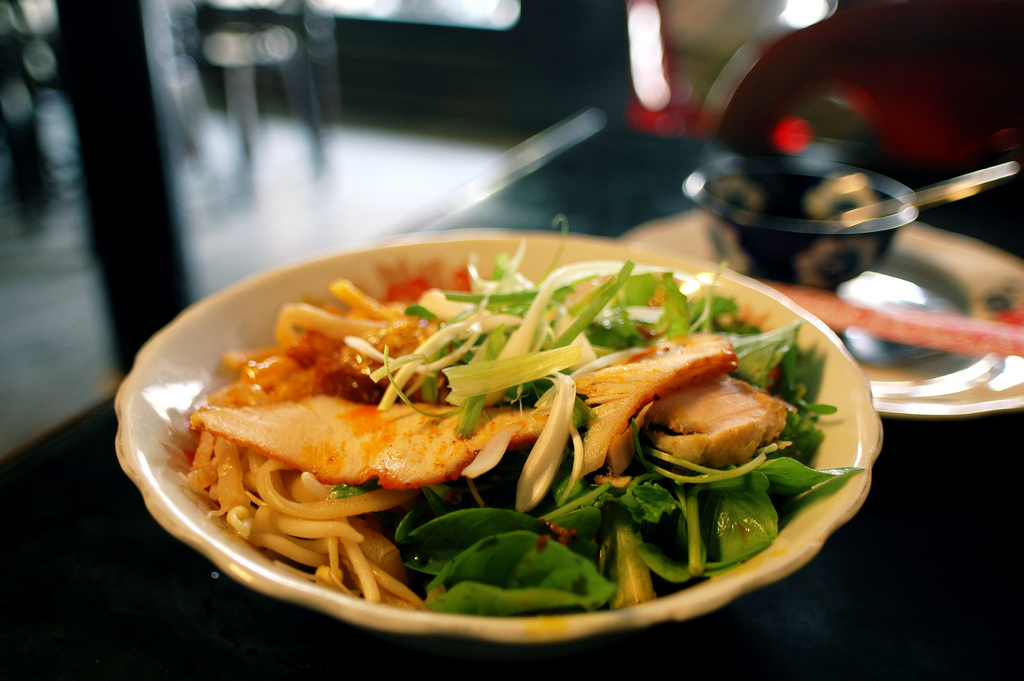 Cao Lầu is a specialty dish of Hoi An