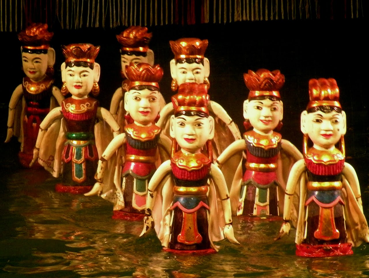 Chores of Water Puppets