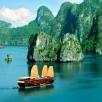 Ha Long Bay from Cai Lan Port