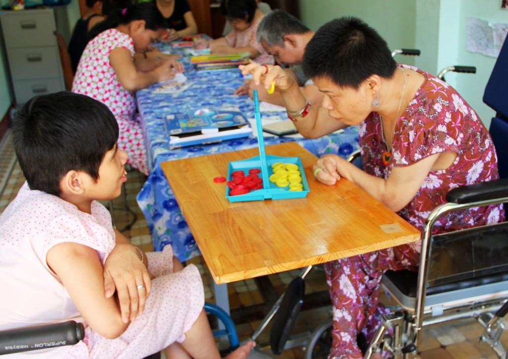 3. The disabled at Lifestart center