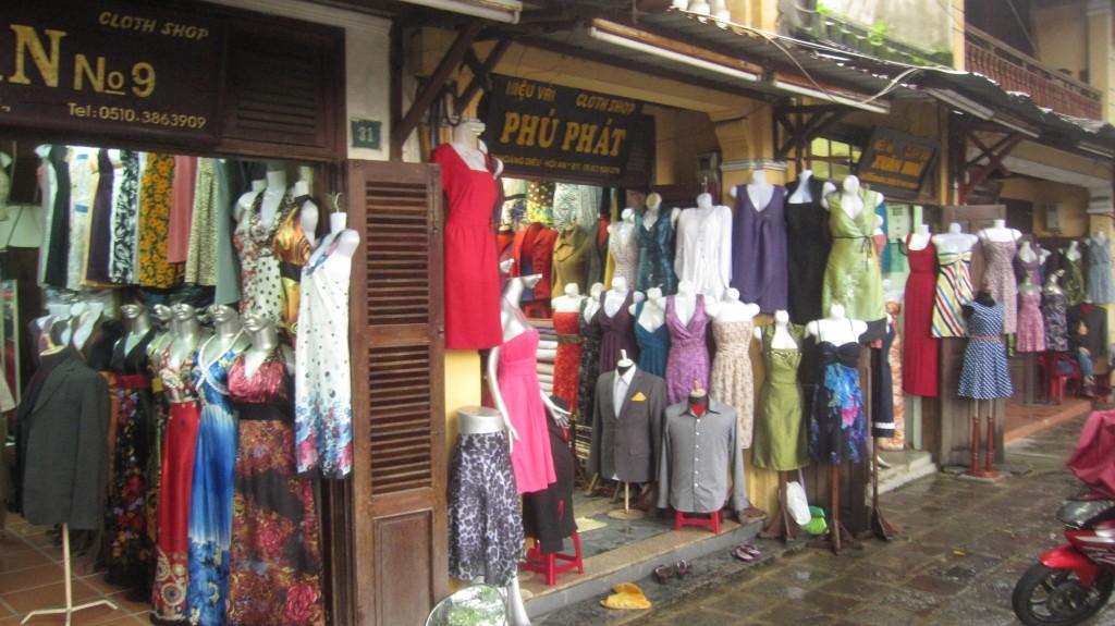 5. Tailor shops