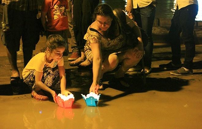 full moon festival, Hoi An, Vietnam, lanterns