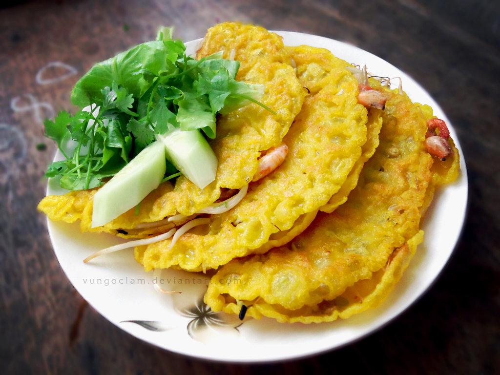 Da Nang Home Cooking Class, da nang cooking class, cooking class, Vietnamese food, Vietnamese pancake, banh xeo