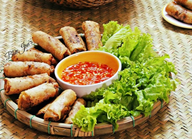 Ram chien – Chicken Deep-fried spring rolls Cha gio